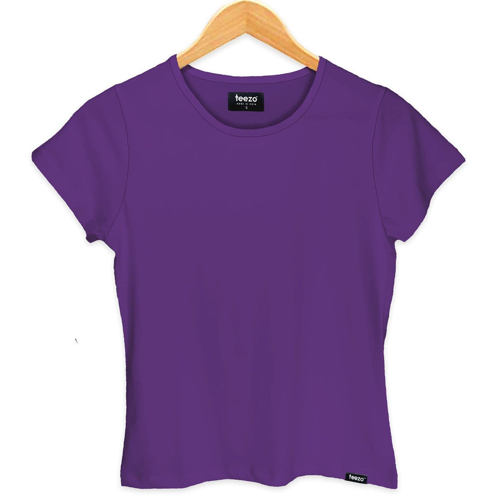 Plain Lavender Women's T-shirt - Teezo Lifestyle