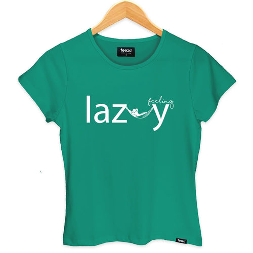 Lazy Women's T-shirt - Teezo Lifestyle