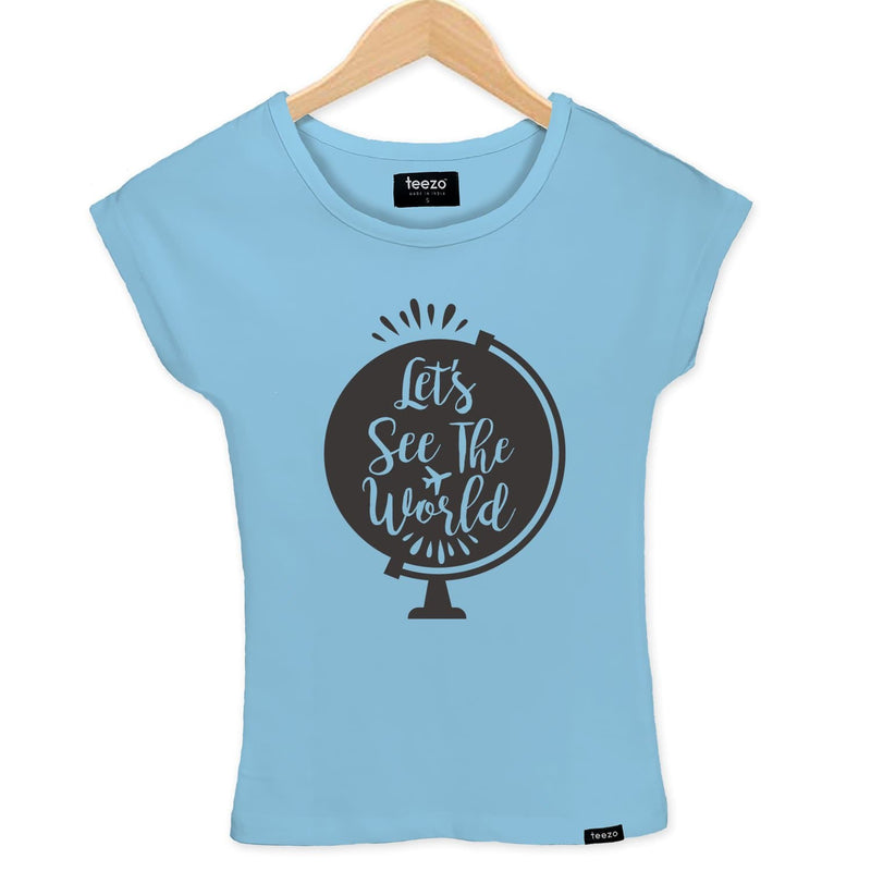 Let's see the World Women's T-shirt - Teezo Lifestyle