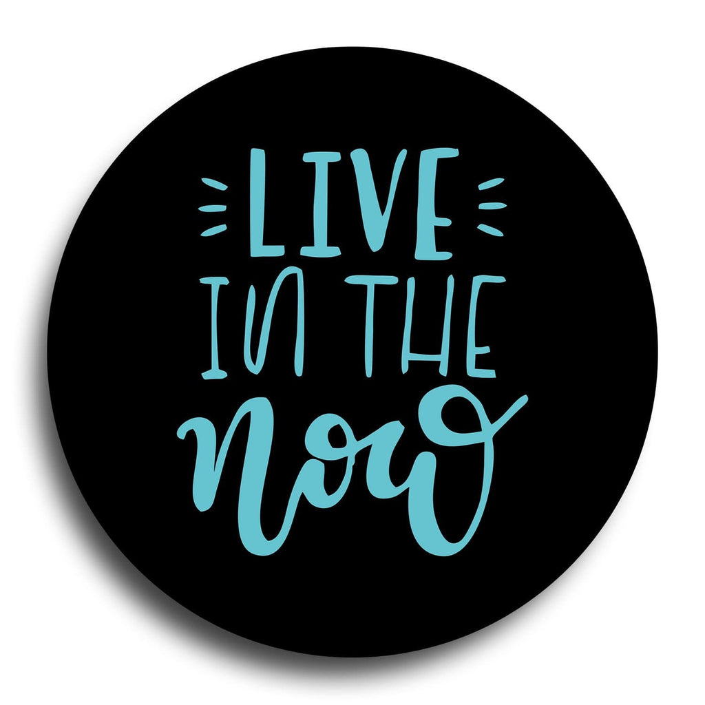 Live In The Now Designer PopGrip - Teezo Lifestyle