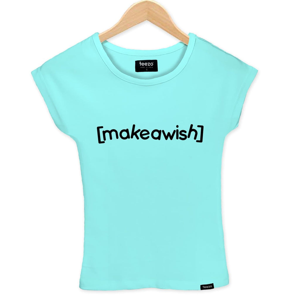 Make A Wish Women's T-shirt - Teezo Lifestyle