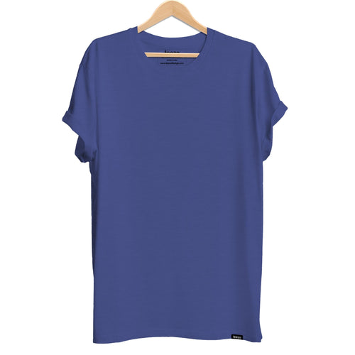 Plain Royal Blue Men's T-shirt - Teezo Lifestyle