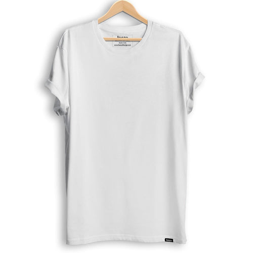 Plain White Men's T-shirt - Teezo Lifestyle