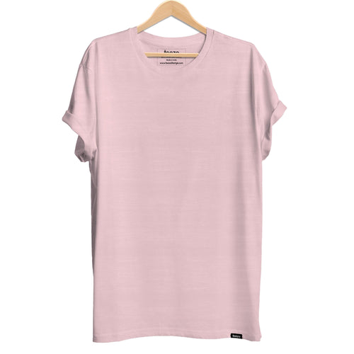 Plain Light Pink Men's T-shirt - Teezo Lifestyle