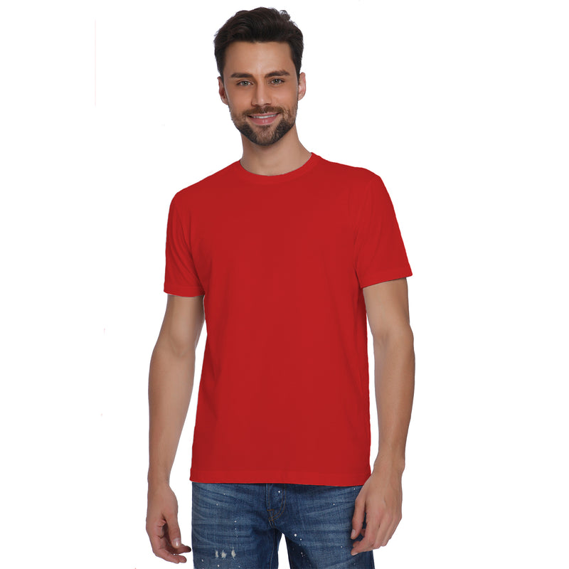 Plain Red Men's T-shirt