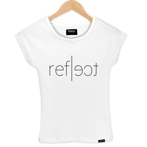 Reflect Women's T-shirt - Teezo Lifestyle