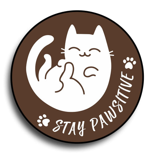 Stay Pawsitive Designer PopGrip - Teezo Lifestyle