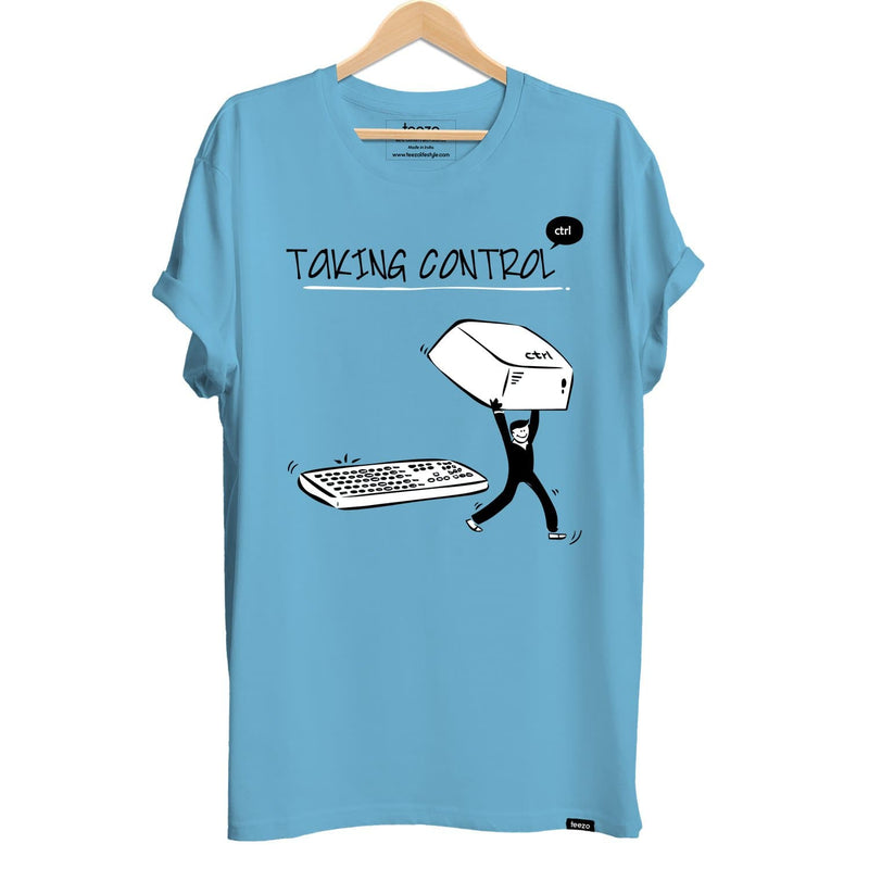 Taking Control Men's T-shirt - Teezo Lifestyle