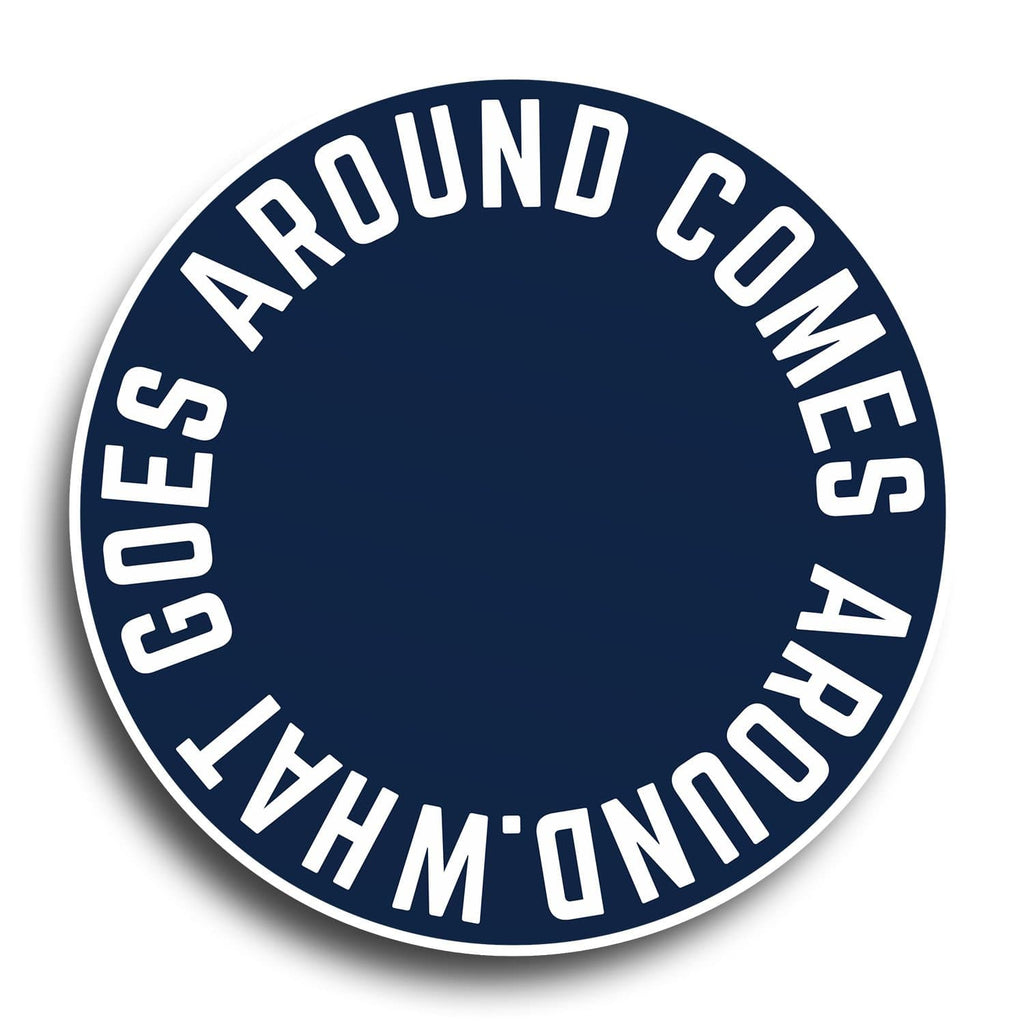 What Goes Around Comes Around Designer PopGrip - Teezo Lifestyle