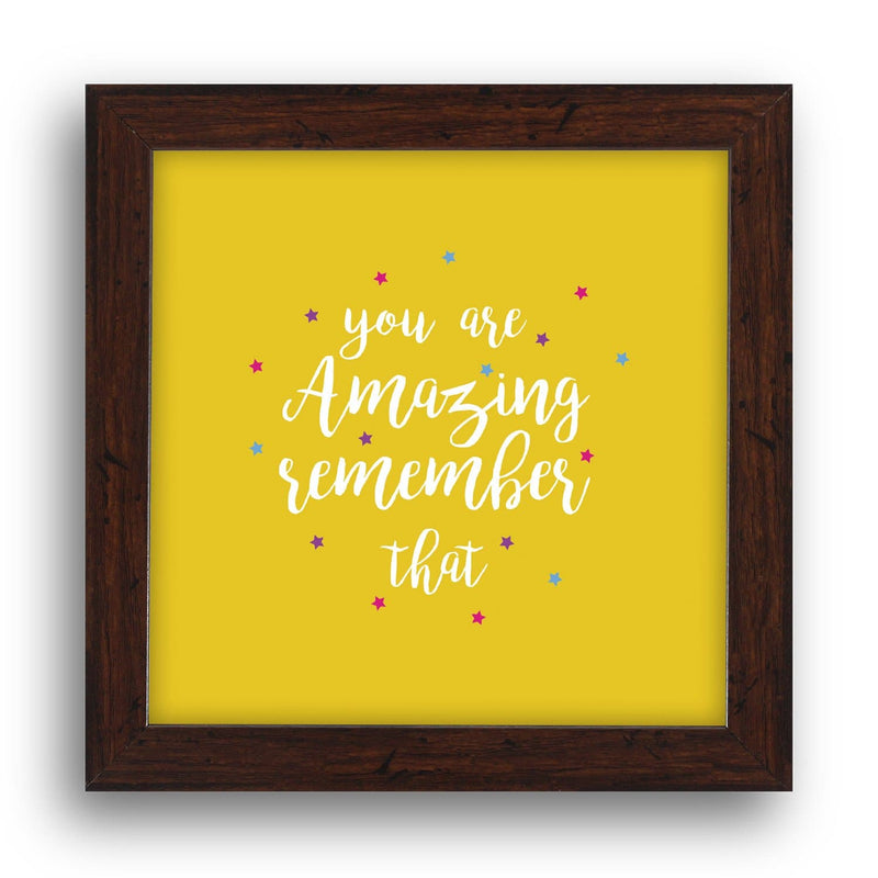 You Are Amazing Desk Frame - Teezo Lifestyle