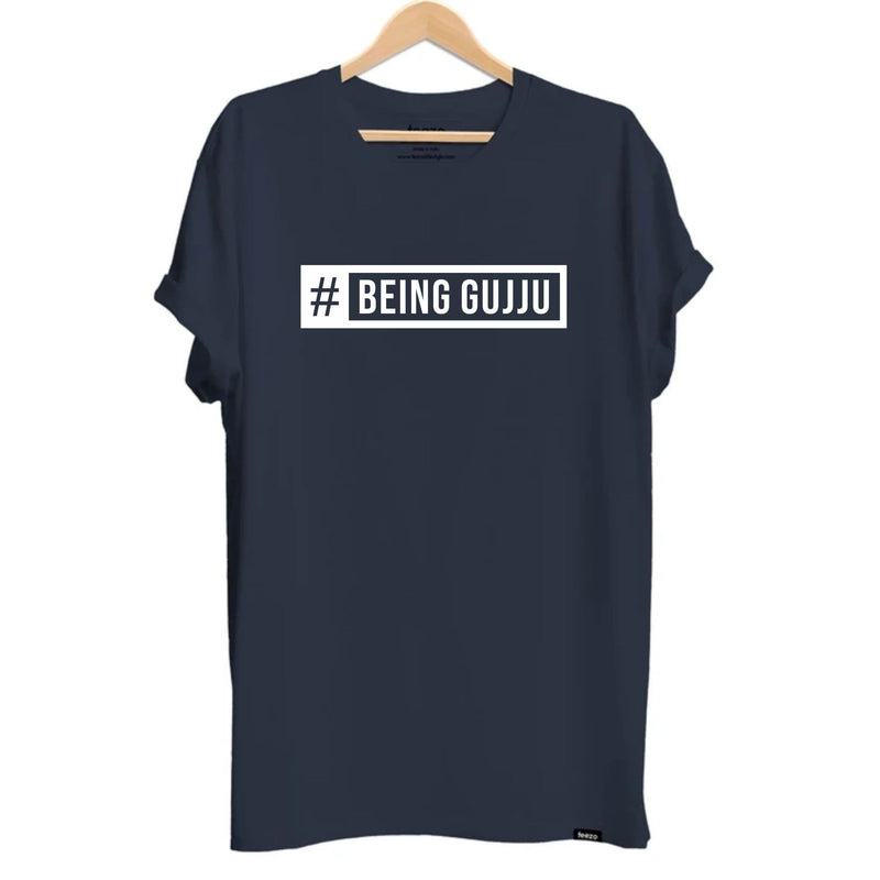 #Being Gujju Gujarati Unisex T-shirt - Teezo Lifestyle