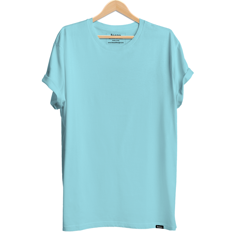 Plain Mint Men's T-shirt - Teezo Lifestyle