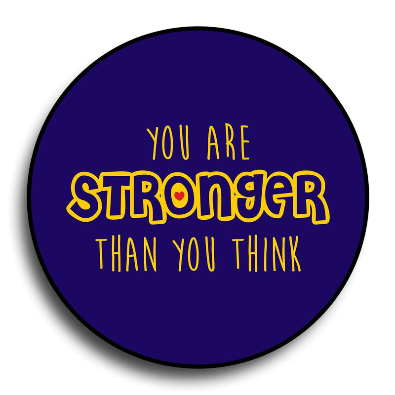 You Are Stronger Than You Think Designer PopGrip - Teezo Lifestyle