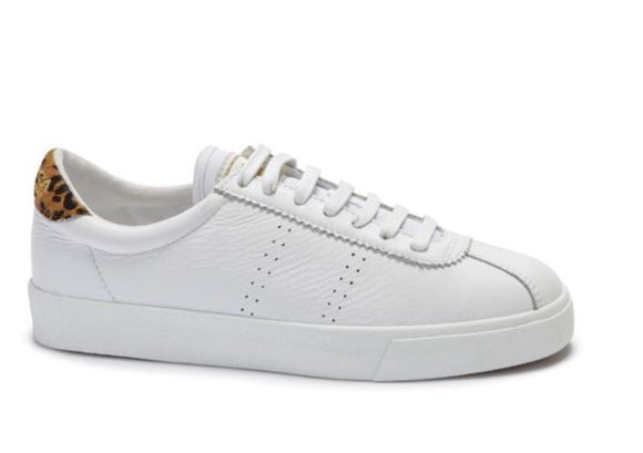 Superga Comflealeopardu White Animalier