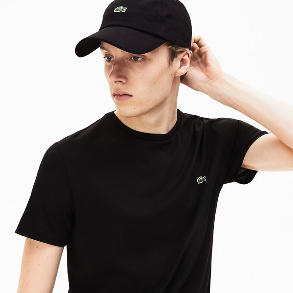 Lacoste Men's Basic Crew Neck Sport Top