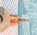 The Noosa Coral Towel