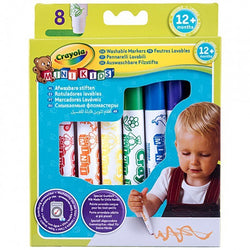Crayola Markers for Kids (12 Months+) - Set of 8