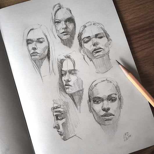 Portrait Drawing Workshop (3 days)