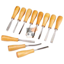 Wood Carving Chisel Set x12