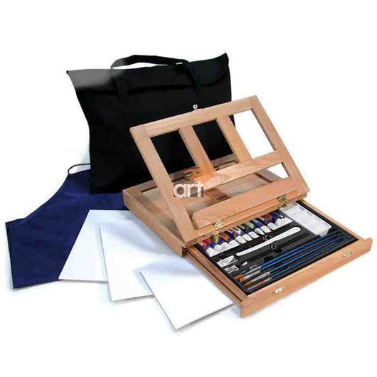 Acrylic Easel Set w/Bag 27 piece