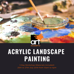 Art Workshop: Acrylic Landscape Painting (Materials included)