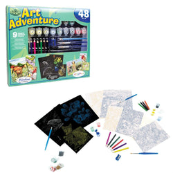 Art Adventure Super Value Set 4