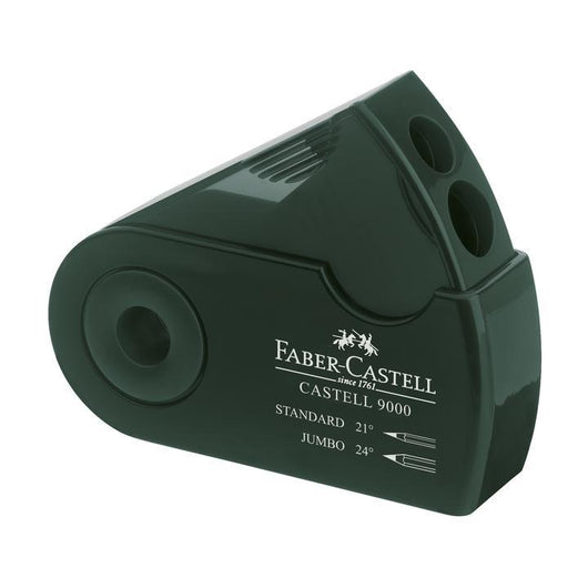 Castell 9000 Art Double Hole Sleeve Sharpener