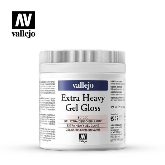 Extra Heavy Gel 500ml - Art Academy Direct malta