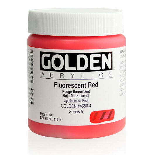 Fluorescent Red - Art Academy Direct