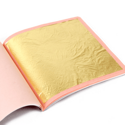 Genuine Gold Leaf 22 Carat (25 sheets) - Art Academy Direct