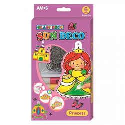 Glass Deco Sun Deco - Princess (Ages 3+) - Art Academy Direct