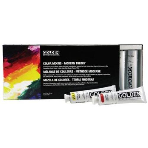 GOLDEN's Heavy Body Color Mixing Set Modern - Art Academy Direct