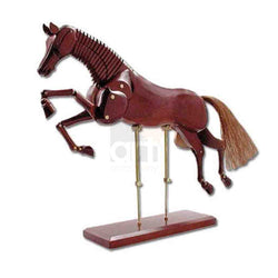 Manikin Horse Dark Brown 20