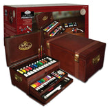 Painting Set Wooden Chest 80 piece - Art Academy Direct