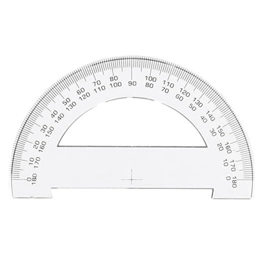 Protractor Plastic Semicircle - Art Academy Direct