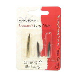 Set of 3 Nibs Drawing & Sketch - Art Academy Direct