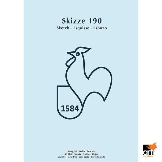 Skizze Sketchpad 190gsm - Art Academy Direct