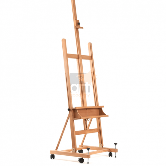 Studio H-Frame Easel on Wheels (Milan) - Art Academy Direct