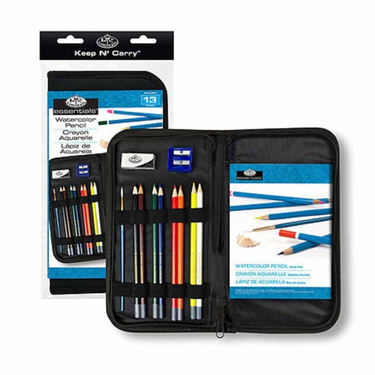 Watercolour Pencil Set with Pocket - Art Academy Direct
