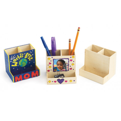 Wooden Desktop Organizer - Art Academy Direct