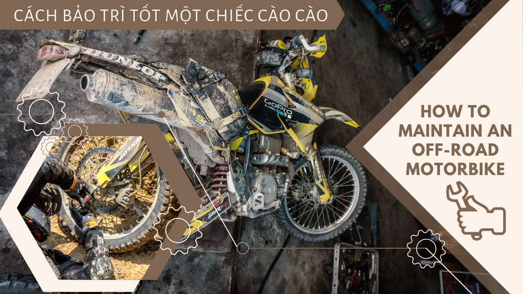 How to properly maintain an off-road motorbike