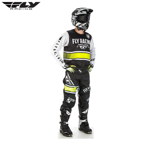 Fly 2018 Kinetic Era Jersey and Pants Set (Black/White)