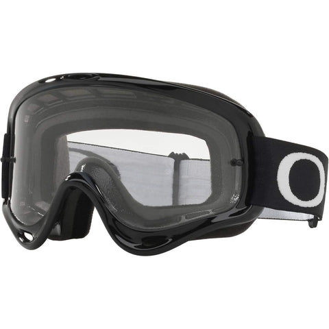 Oakley 2018 O Frame MX Goggle Adult (Jet Black) Clear Lens
