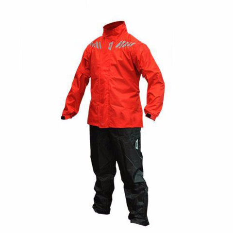 Givi Ridertech Rainsuit - Red