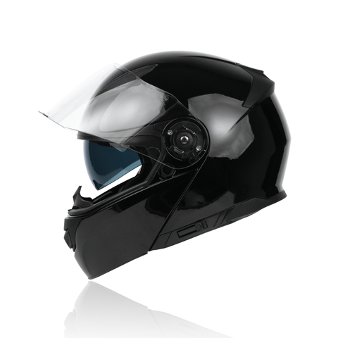 Yohe 950 Flip Up Helmet (Glossy Black)