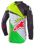 Alpinestars Racer Braap Jersey (Black/White/Green)