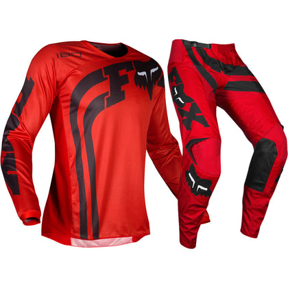 Fox 180 Cota Red MX Jersey And Pants Set