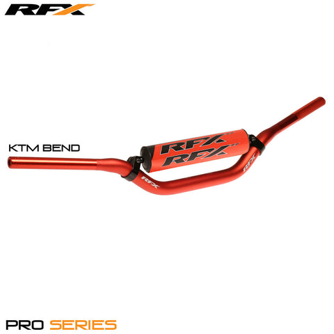 RFX Pro Series F8 Taper Bar 28.6mm (Orange) KTM Bend