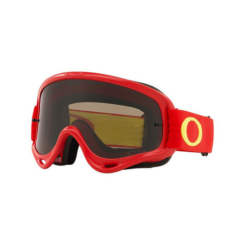 Oakley 2018 O Frame MX Goggle Adult (Red/Yellow) Dark Grey Lens