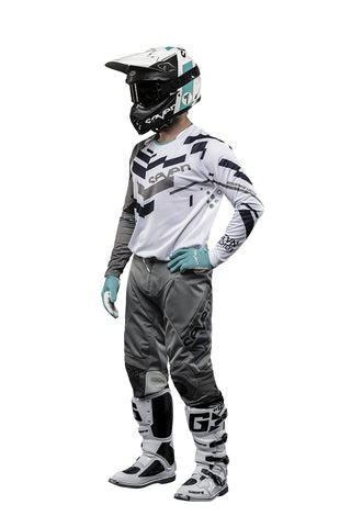 Seven MX 18.2 Rival Volume Jersey and Pants Set (Grey/White)